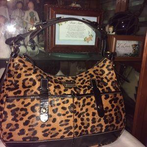 Dooney & Bourke Coated Leather Purse